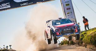 Mads Østberg ble nummer seks i sitt første grusrally med C3 WRC. (Foto: Citroën)