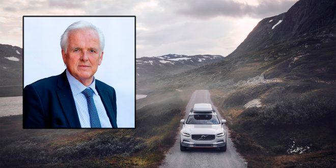 Volvo og Øystein Herland var selvsagt meget fornøyd med å bli kåret til det selskapet med de mest tilfredse kundene. (Foto: Volvo)
