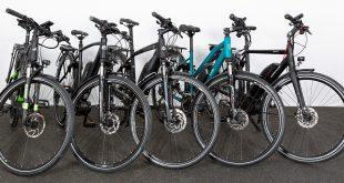 Hvilken av de litt dyrere elsyklene er den beste? (Foto: NAF/Testfakta)