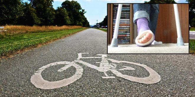 Pass på barnet, også når du sykler. (Foto: If)