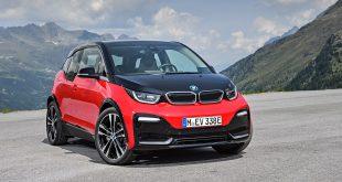 BMW har nå rundet 1 million solgte biler i 2018. Her BMW i3s.. (Foto: BMW)