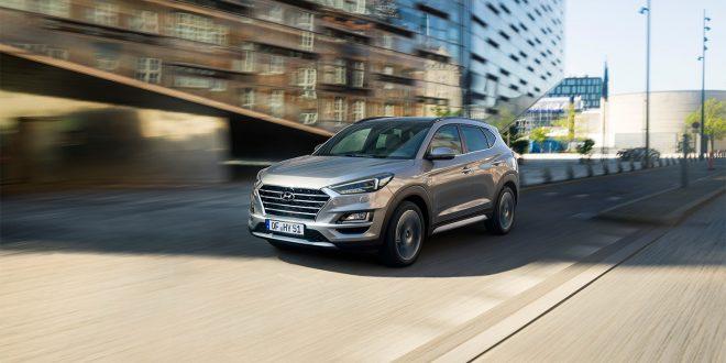 Hyundai Tuscon kommer som mildhybrid. (Alle foto: Hyundai)