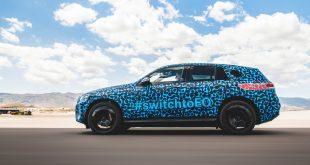 Mercedes er i sluttfasen av testingen rundt den kommende elbilen EQC. (Alle foto: Mercedes)