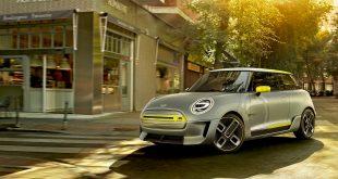 Dette er et bilde av konseptmodellen av Mini E som ble vist fram i fjor. (Alle foto: Mini)