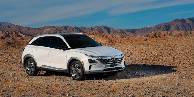 Audi vil høste frukter fra den kommende Hyundai Nexo, en hydrogenbil med lang rekkevidde. (Foto: Hyundai)