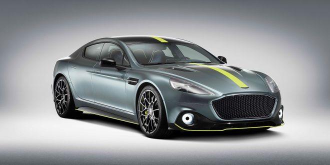 Aston Martin kommer nå med en racinginspirert Rapide. (Alle foto: Aston Martin)