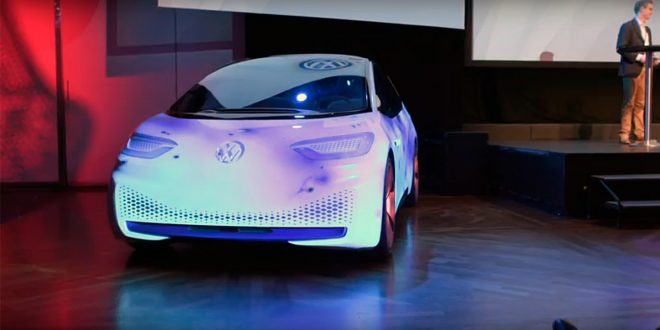 Volkswagen tok med seg I.D. til Oslo. (Foto: VW)