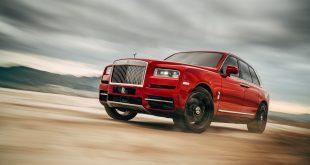 Nei, det er ikke bilprodusenten Rolls-Royce som skal kutte stillinger. Her den nye Cullinan. (Foto: Rolls-Royce)