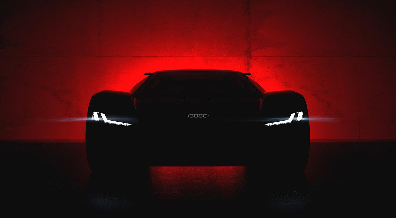 Her er Audi PB18 e-tron. (Foto: Audi)