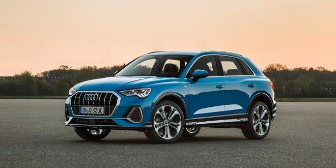 Audi kommer med ny generasjon Q3 i november. (Alle foto: Audi)