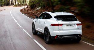 Jaguar E-Pace arver teknologi fra den kommende I-Pace. (Begge foto: Jaguar Land Rover)