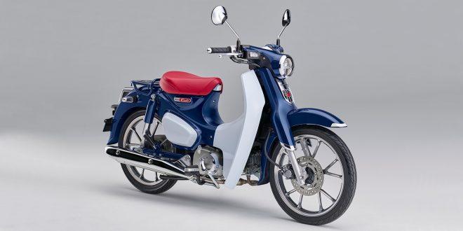 Honda Super Cub C125 kommer til Europa. (Alle foto: Honda)