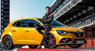 Nico Hülkenberg har vært involvert i utviklingen av den nye Mégane R.S. Trophy. (Alle foto: Renault)