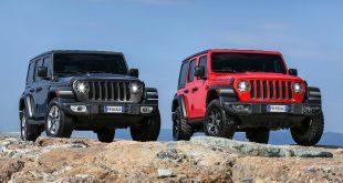 Jeep kommer med 4. generasjon Wrangler. (Alle foto: FCA)