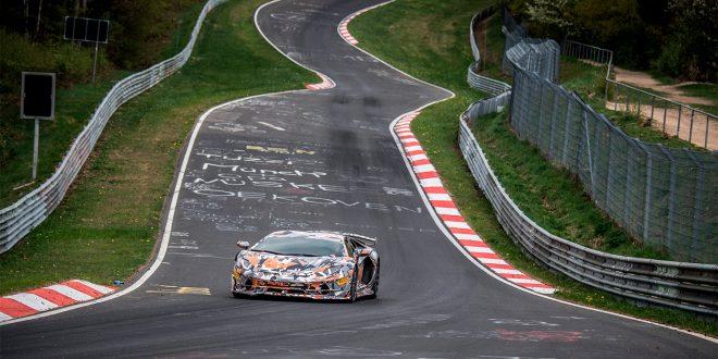 Denne bilen er den raskeste produksjonsbilen rundt Nordschleife. (Begge foto: Lamborghini)