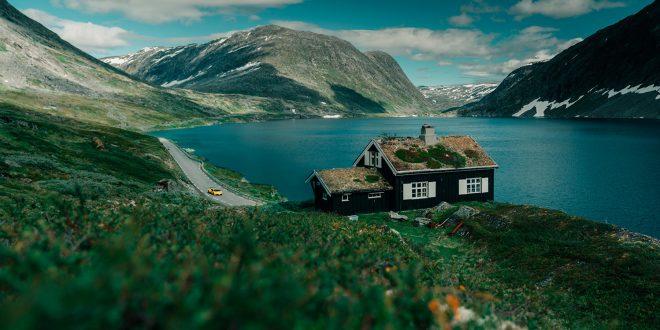 Her møtes Norges og Lamborghini. Det må bare bli vakkert! (Alle foto: Lamborghini)