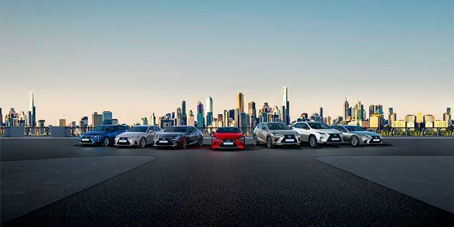 Her er Lexus' hybrider som sørger for et stadig økende europeisk salg. (Foto: Lexus)