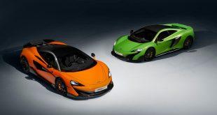 McLaren skal komme med 18 nye og oppgraderte modeller innen 2025. 600LT har premiere denne helga. (Alle foto: McLaren)