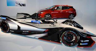 Nissan har tatt over plassen til Renault i formel E. (Foto: Nissan)
