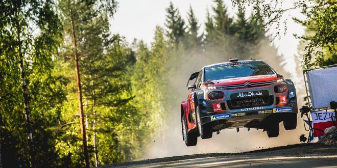 Citroën begynner å nærme seg gamle høyder i rally-VM. (Foto: Citroën)