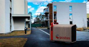 Posten og Buddy Mobility skal utvikle en selvkjørende pakkerobot. (Foto: Posten)