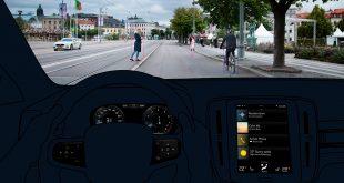 Et råd i EU foreslår nye tiltak for å styrke trafikksikkerheten. Her Volvos nødbrems. (Foto: Volvo)