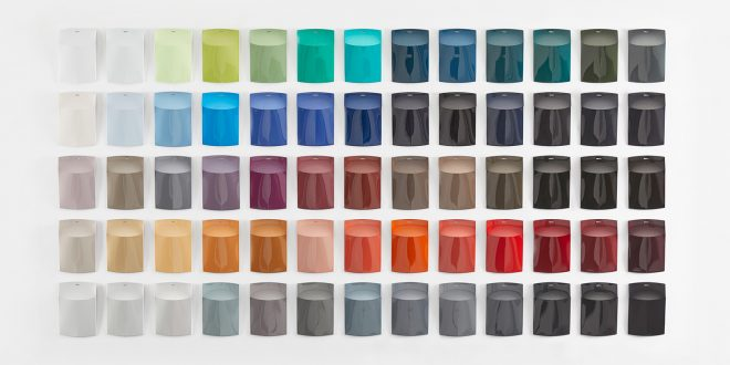 Bilene i 2019 bør har noen av disse fargene. (Foto: BASF)
