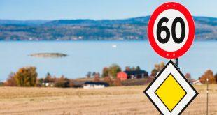 Du sparer ikke mye tid på å bryte fartsgrensene. (Foto: NAF)
