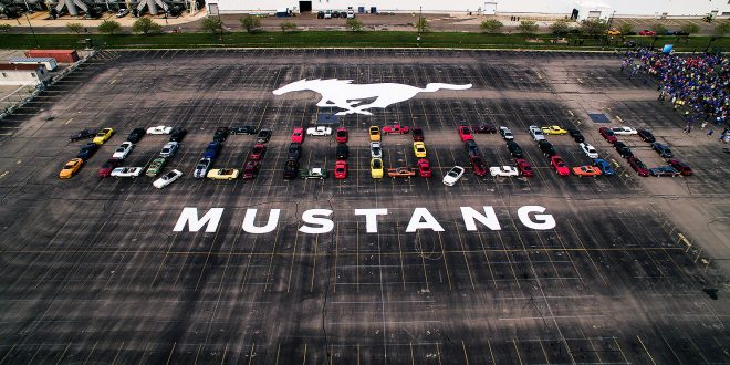 Ford Mustang nummer 10 million er produsert. (Alle foto: Ford)