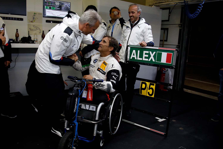 Alex Zanardi gjennomførte løp i en av verdens tøffeste racingserier, DTM. (Foto: BMW)