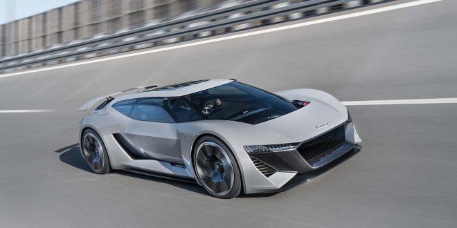 Audi viser oss noe helt ellevilt med PB18 ‒ en elbil med 764 hk. (Alle foto: Audi)