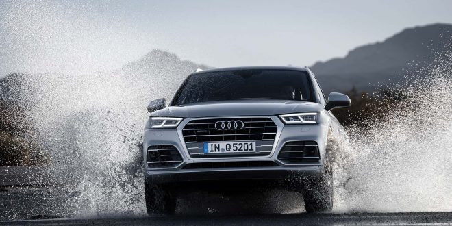 Kjører du en Audi Q5 er den laget i Mexico. Og det uten å løse med vannet. (Foto: Audi)