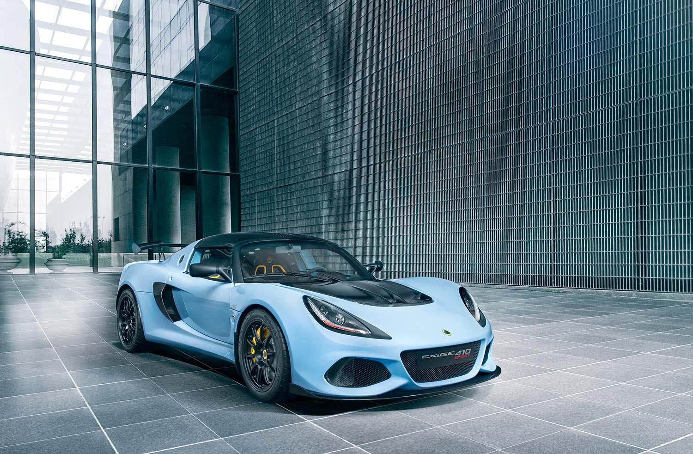 Her er modellen Exige Sport 410. (Foto: Lotus)