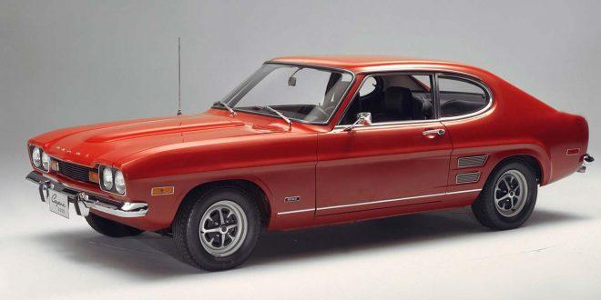 Se på denne lekre bilen. Ford Capri, folkens! (Alle foto: Ford)