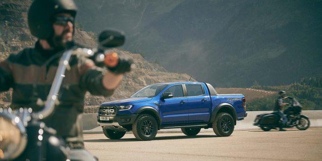 Ford kommer nå med en muskelvariant av pickup-modellen Ranger, Raptor. (Alle foto: Ford)
