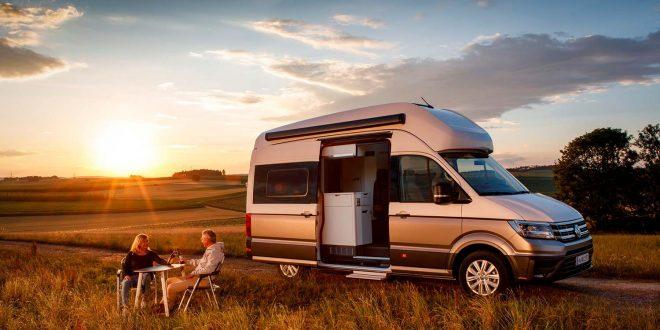 Volkswagen kommer med sin stlrste camper, Grand California. (Alle foto: Volkswagen)