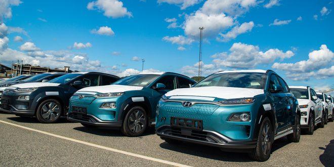Her er bildet som gjør mange glade. Hyundai Kona electric er endelig i Norge. (Alle foto: Hyundai)