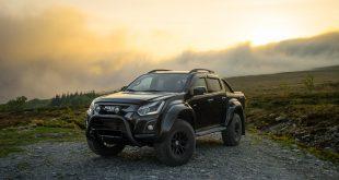 Toyota selger alle sine aksjer i Isuzu. Her Isuzu D-Max Arctic Truck-versjon. (Foto; RSA)