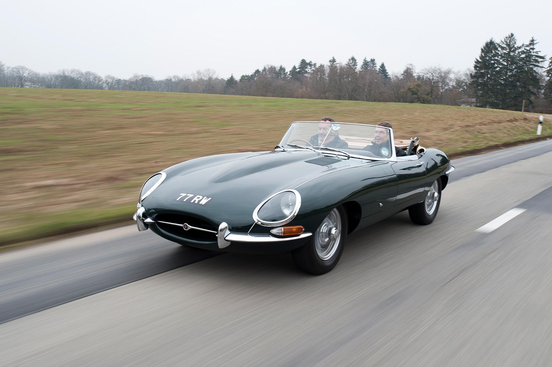 E-Type har flere ganger blitt kåret til den vakreste bilen i historien. (Foto: Jaguar)