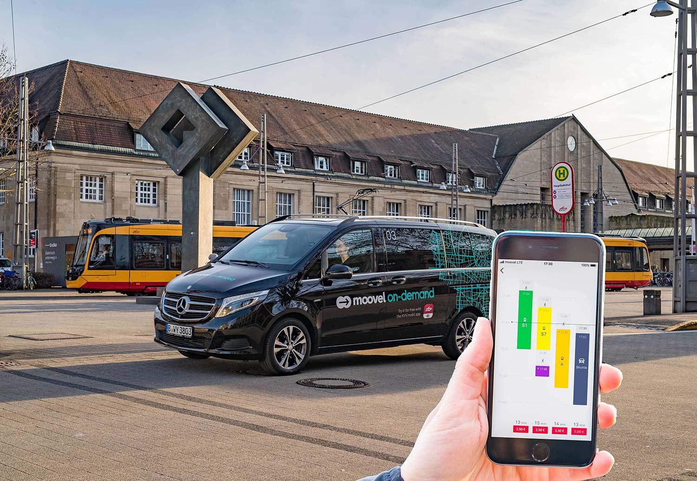 Daimler har sammen med BMW-gruppen en lang rekke nye tjenester. (Foto: Daimler)