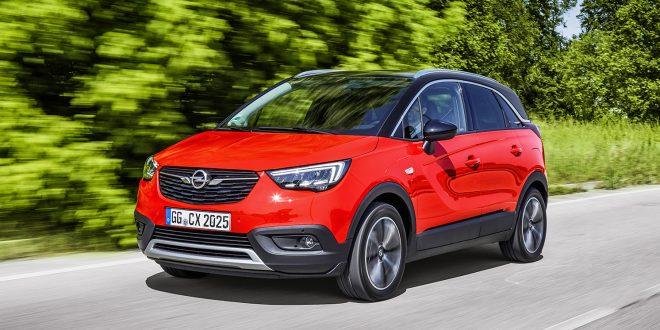 Bertel O. Steen skal overta Opel. Her Crossland X. (Foto: Opel)