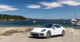 Porsche Panamera Turbo S E-Hybrid satte seks rekord. (Foto: Porsche)