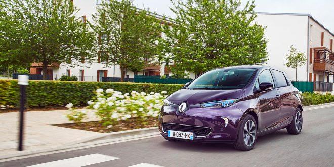 Renault Zoe var bestselgeren blant elbilene i Sverige i juli. (Foto: Renault)