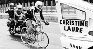 Jean-Claude Rude gjør seg klar for en fart på 240 km/t. (Foto: Porsche)