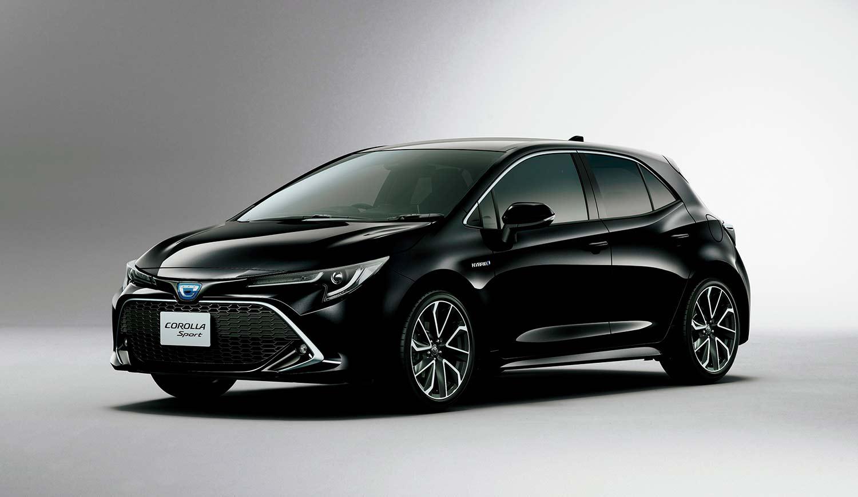 Toyota lanserte nylig 12. generasjon av Corolla i Japan. Her Corolla Sport. (Foto: Toyota)