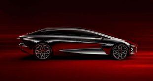 Aston Martin skal produsere alle sine elbiler i en ny fabrikk i Wales. Her er Lagonda. (Foto: AM)