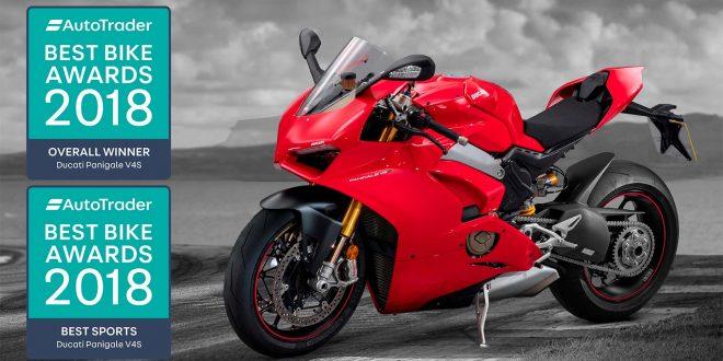 Dette er årets beste motorsykkel, mener Auto Trader. (Foto: Auto Trader)