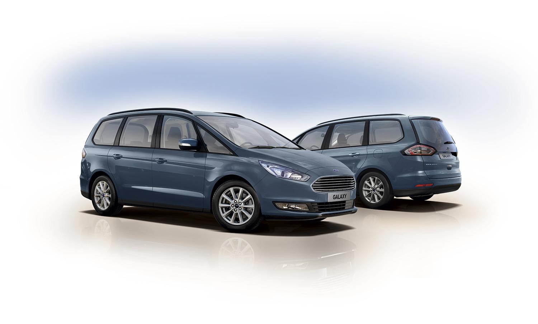 Også storesøsteren Galaxy blir utstyrt med den nye EcoBoost-motoren på 2 liter. (Foto: Ford)