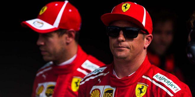 Det skal mye til for at Kimi Räikkönen smiler. Det faktum at han er klodens raskeste rundt en racerbane holder ikke. (Foto: Ferrari)