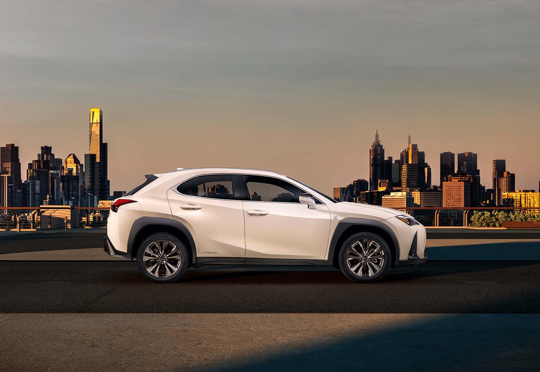 Lexus kommer med en ny kompakt SUV kalt UX. (Foto: Lexus)